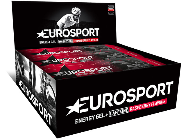 Eurosport nutrition Energy Gel + Caffeine 20 x 40g, raspberry